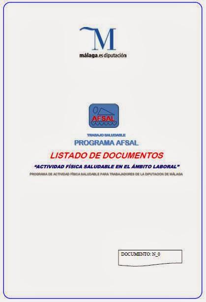 LISTADO DE DOCUMENTOS DEL PROGRAMA
