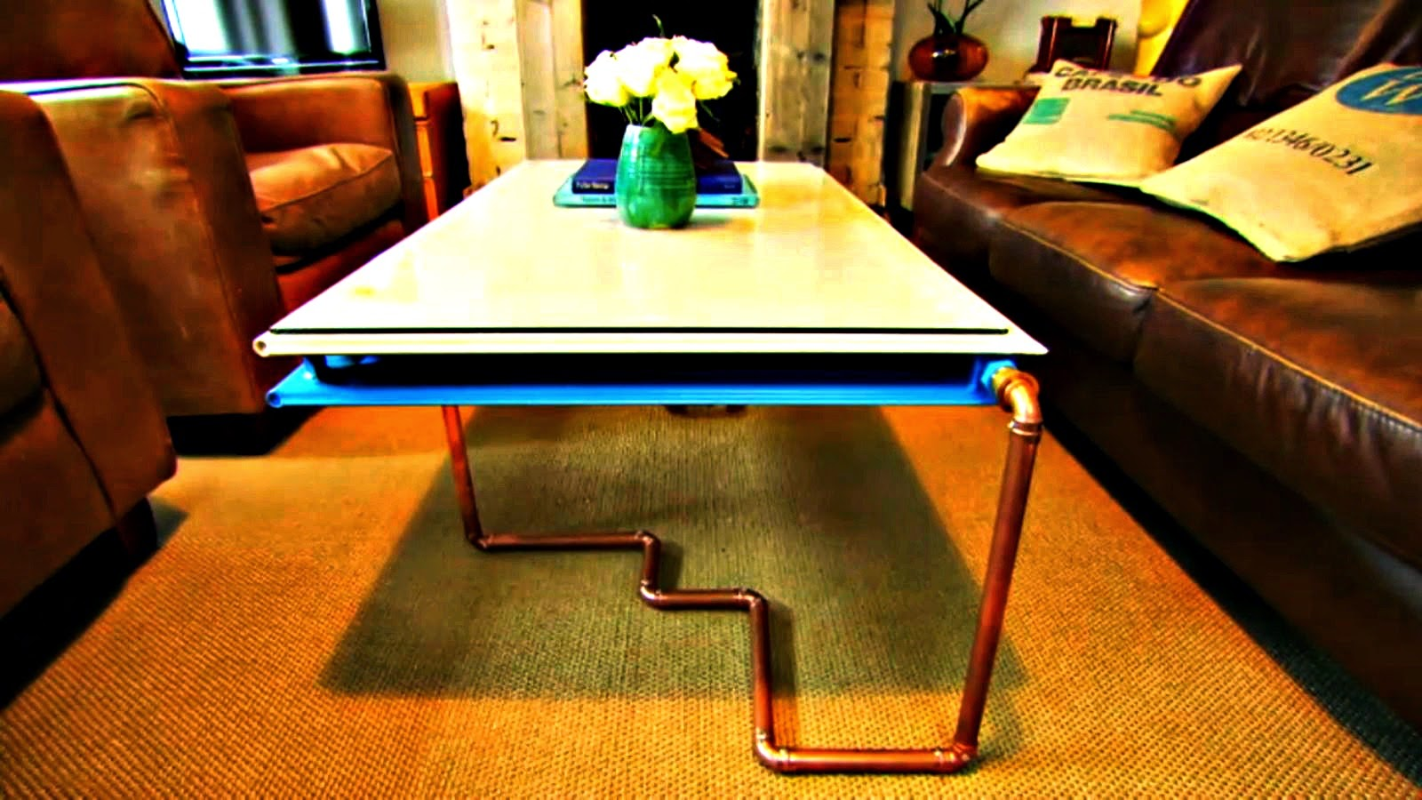 Fill Your House For Free Heater as Coffee Table DIY