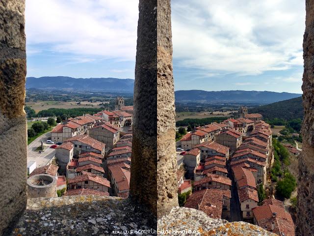 Vista de Frias desde las almenas del castillo