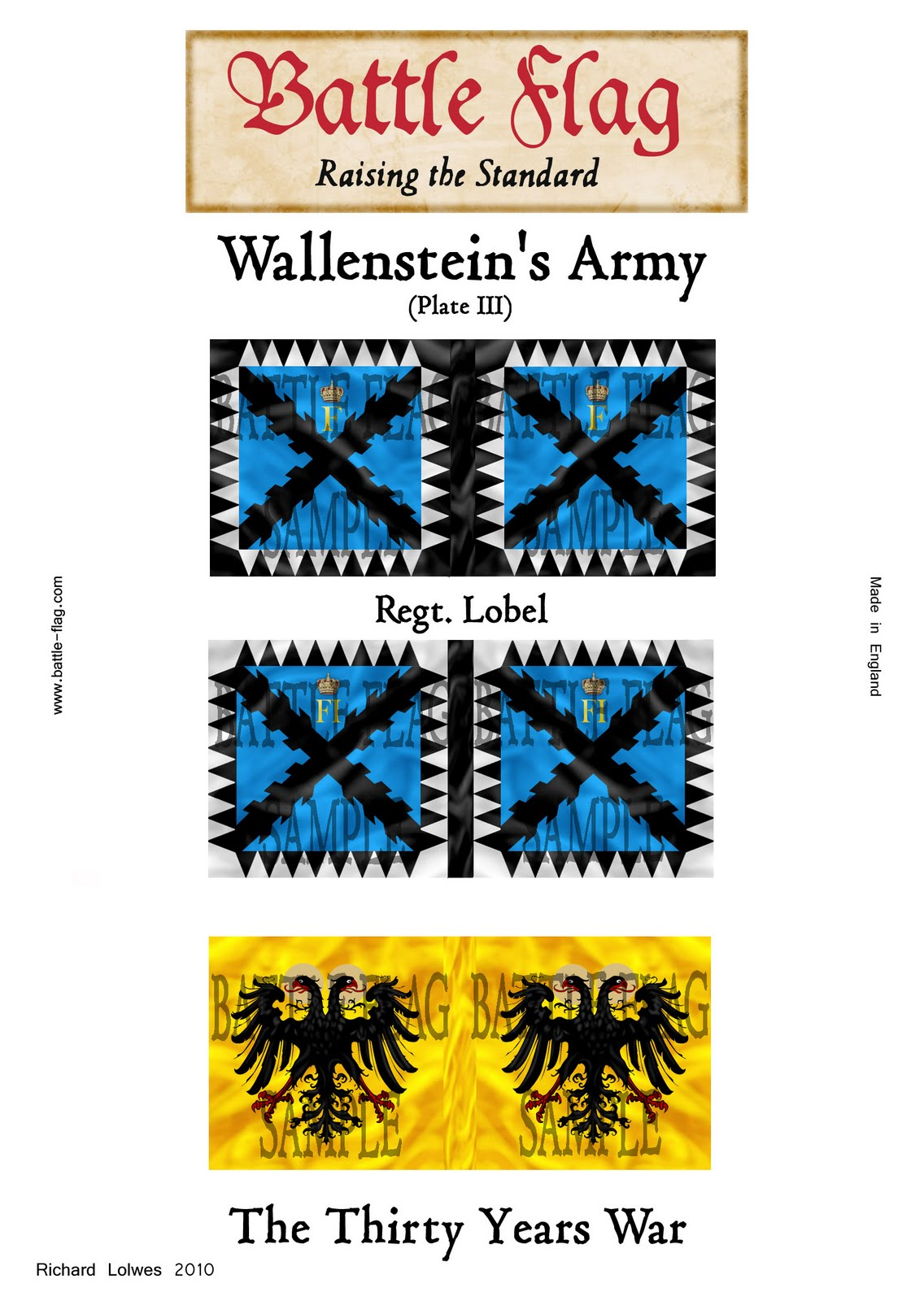 Thirty Years War Flags