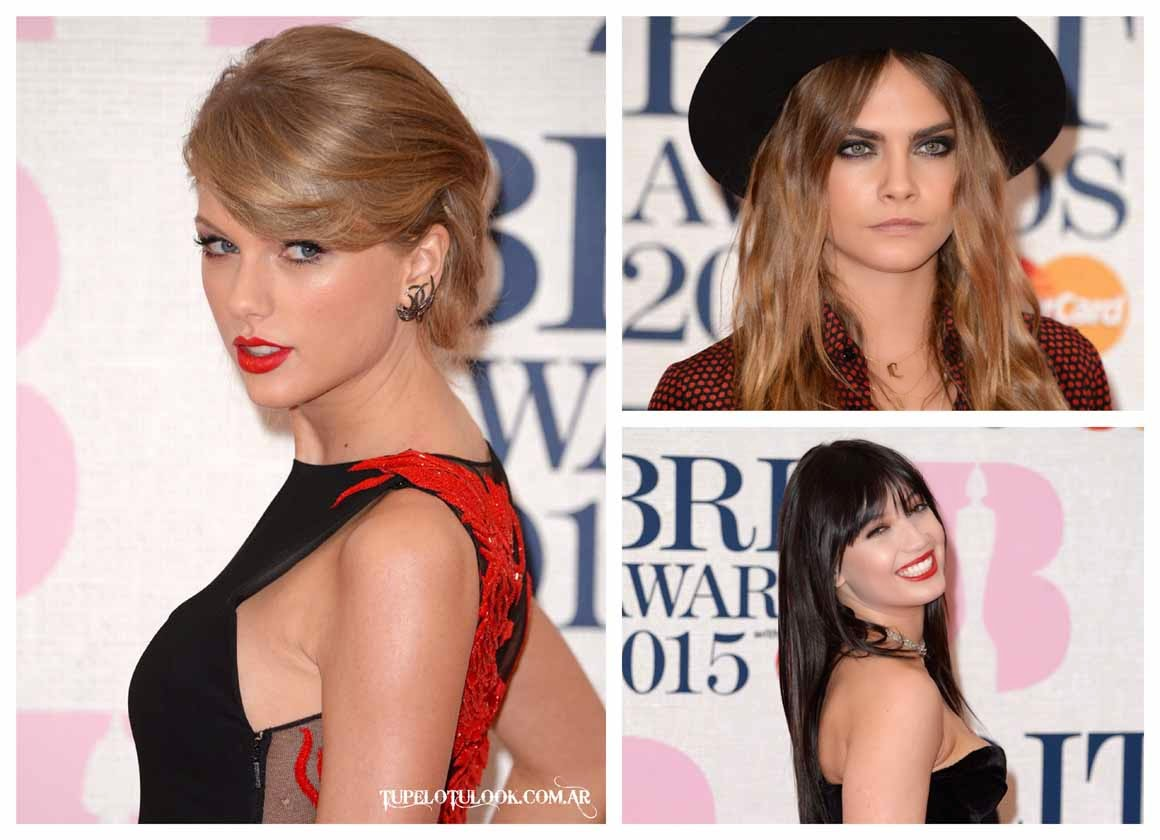 peinados 2015 Brit Awards