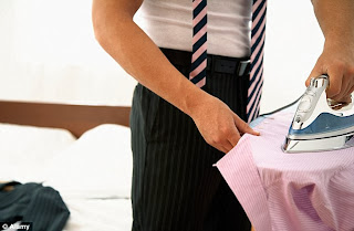 Use ironing service and save time