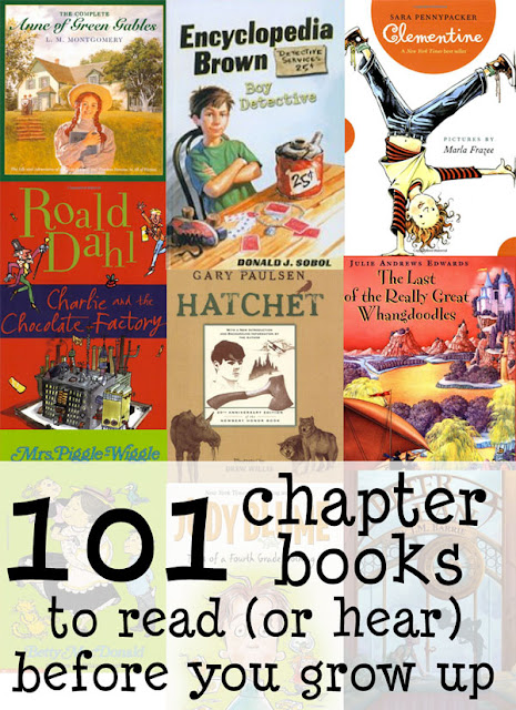 Chapter Books to Read