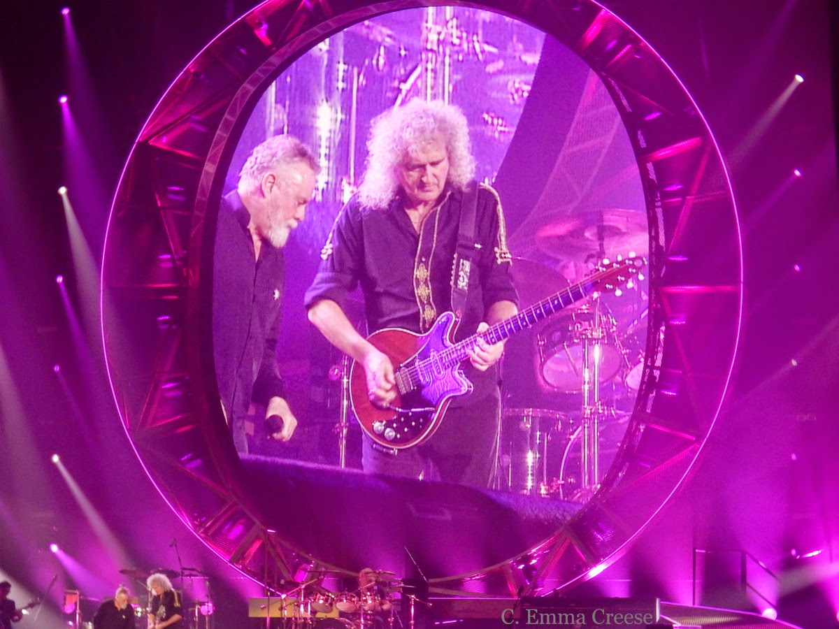Queen + Adam Lambert. - Adventures of a London Kiwi