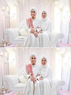 gambar pernikahan ustaz don daniyal,gambar kahwin ustaz don daniyal,ustaz don daniyal dan husna zahry