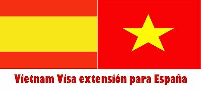 Vietnam Visa extensión para España