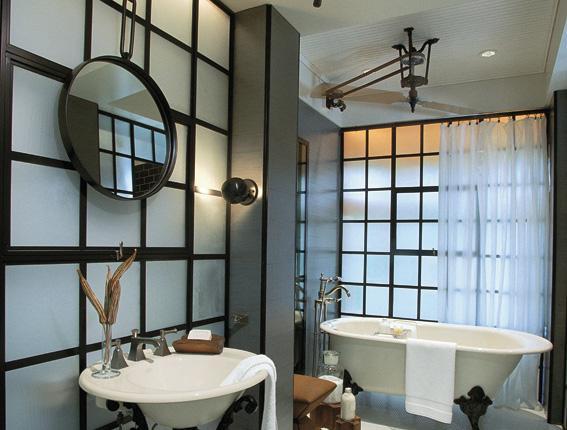 Baño Moderno Con Tina:Baños Modernos: Baño tina antigua patas metalicas