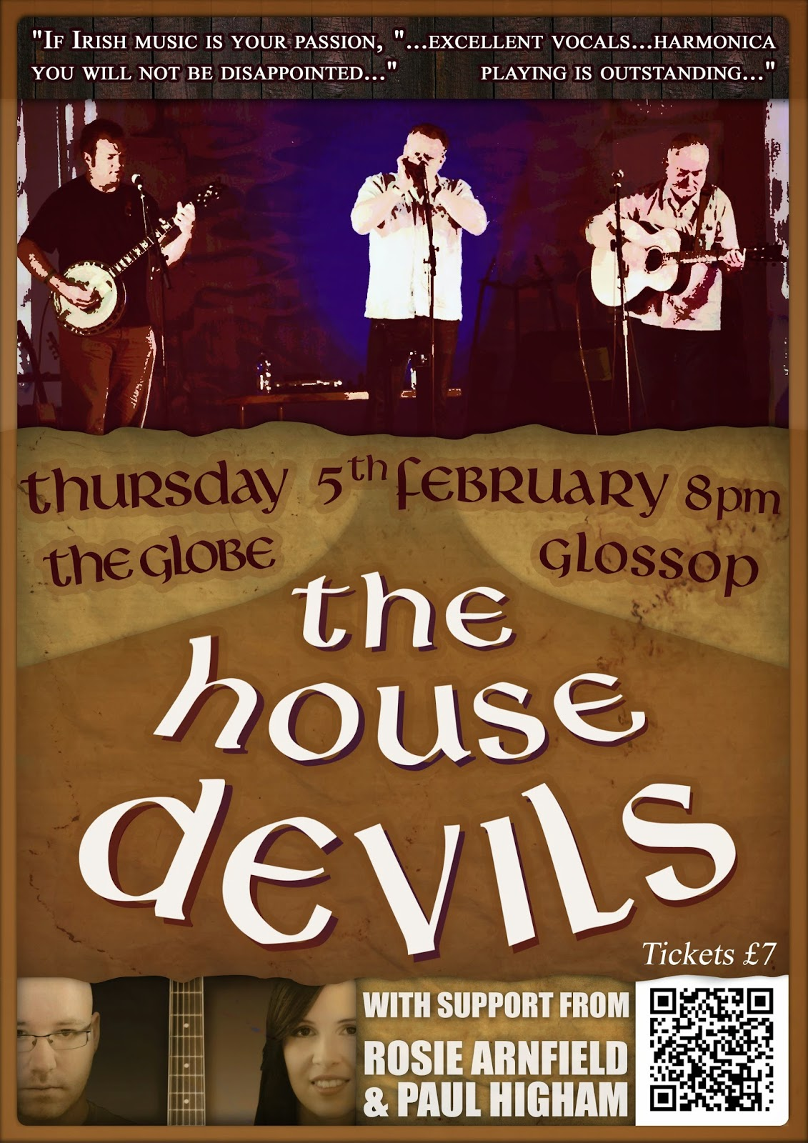 The House Devils Poster