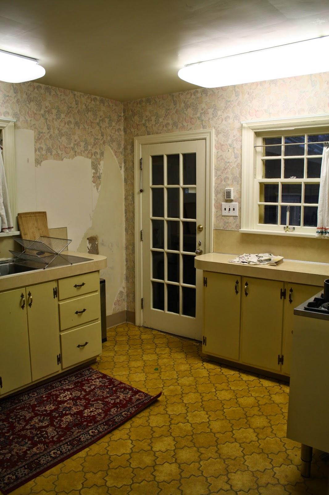 Removing Linoleum - Scraping Up Linoleum - Restoring Wood Floors