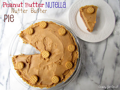 Nutella Peanut Butter Pie