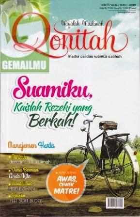 Majalah Muslimah Qonitah Edisi 17 vol 02 1435H-2014M