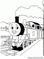 Kereta Nomor 1 Thomas Akan Segera Berangkat Dari Stasiun