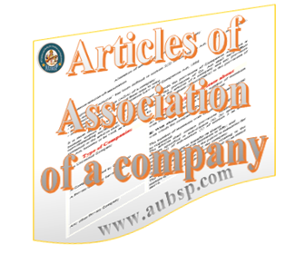 Alteration of Articles of Association of a Company