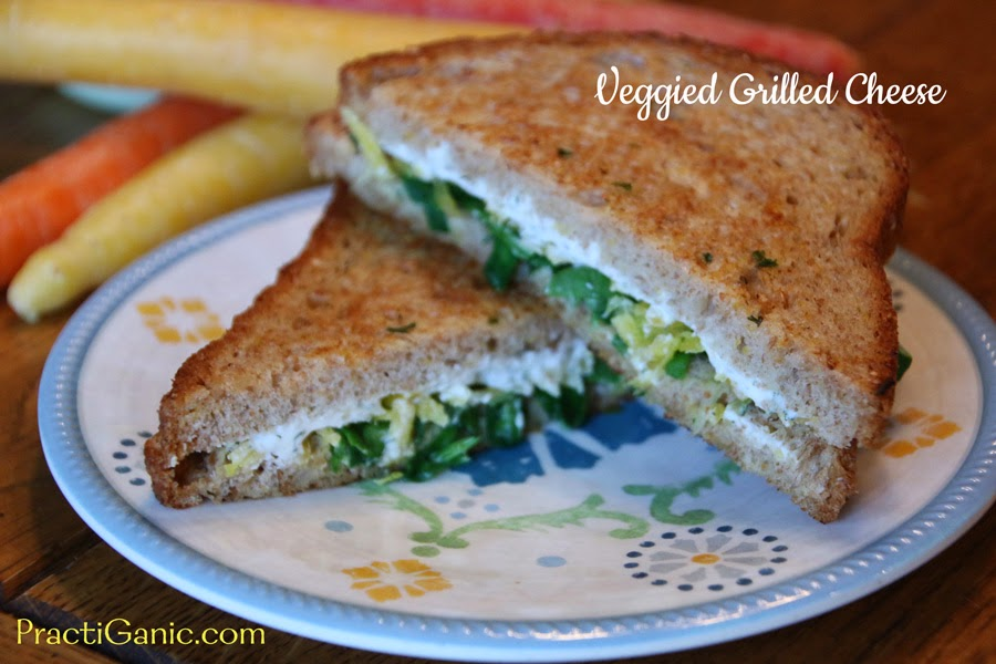 Veggied Grilled Cheese