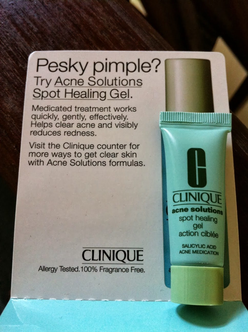 QR | Clinique Acne Solutions Sample | Will I Buy?