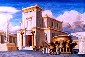O novo Templo e a Arca da Aliança desaparecida.