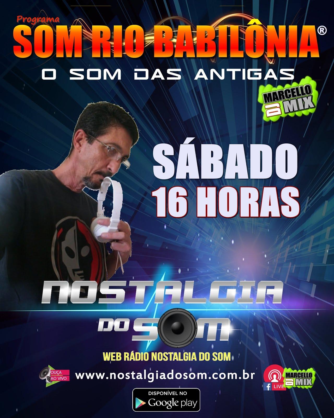 SÁBADO - 16HS --SOMRIOBABILONIA®