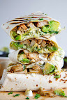 Chicken and Avocado Burritos