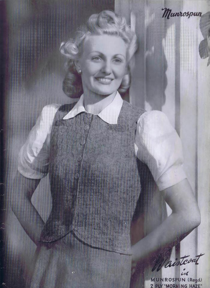 Vintage Knitting Pattern Library : The Vintage Pattern Files: 1940s Knitting - Munrospun ...