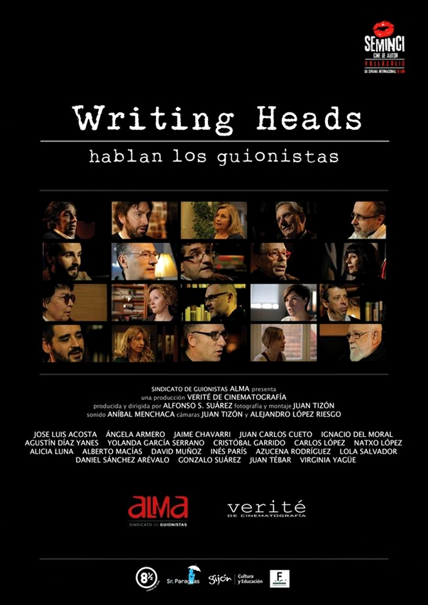 Writing Heads: Hablan los guionistas póster