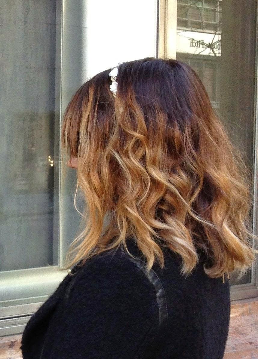 Ombr hair miel marron - Ombre hair marron caramel ...