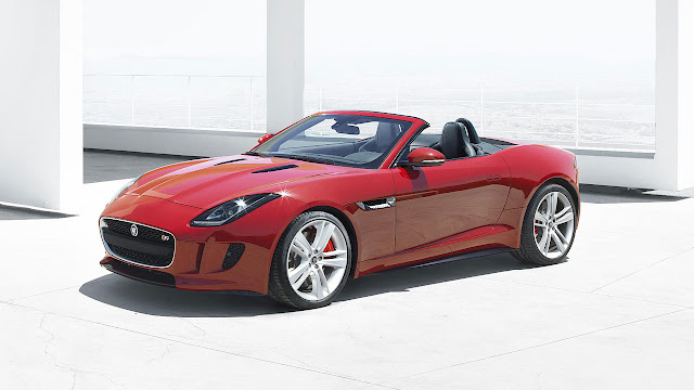 Jaguar F-Type Convertible front side