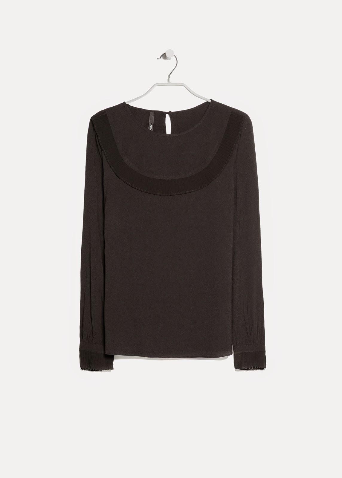 black mango blouse