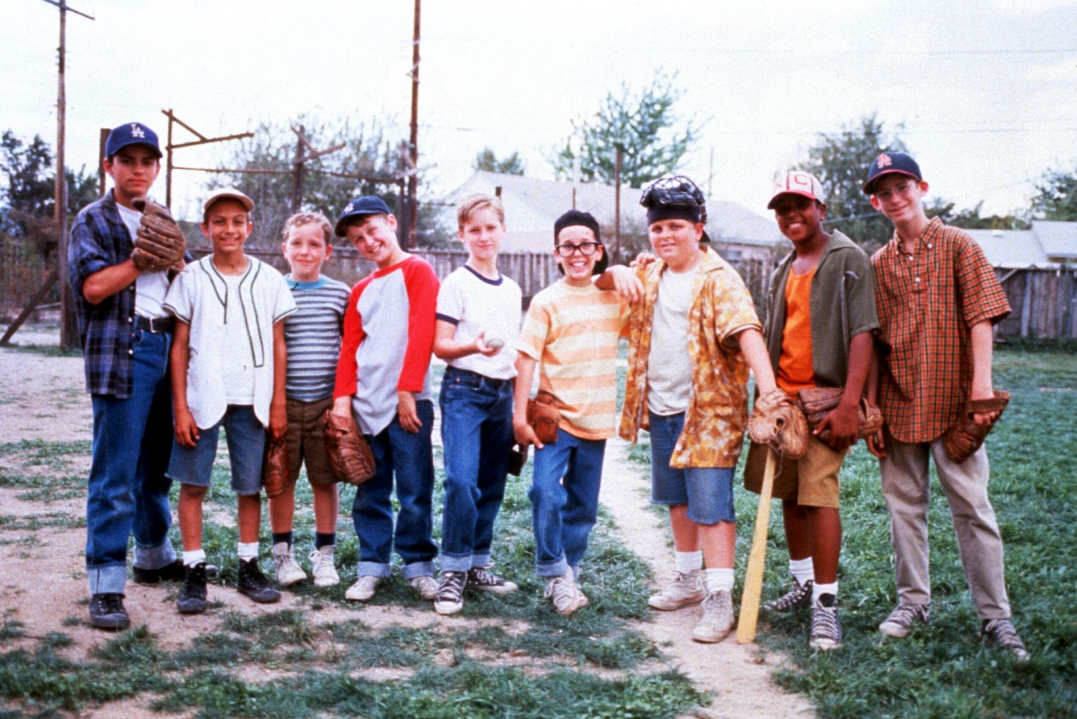 The Sandlot boys