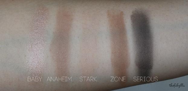 urban decay gwen stefani eyeshadow palette, review, swatch