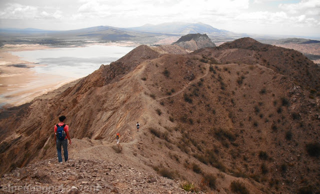 Trekking San Juan, cruce sierra de Marquesado, sierra chica de zonda