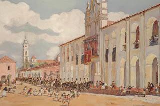 Leonie Matthis - pintura historica argentina