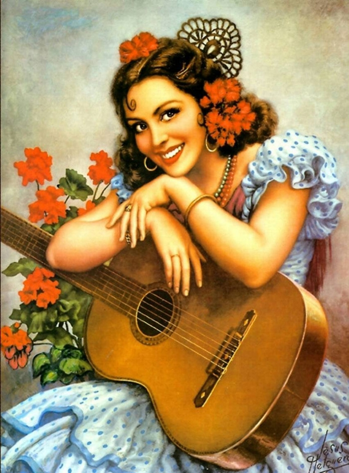 Jesús Helguera 1910-1971 | Mexican Classical painter