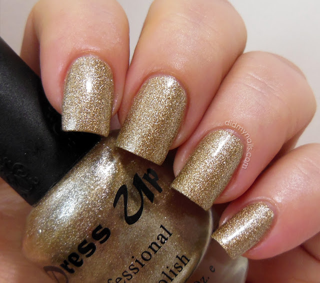 Dress Up 38 Suede gold