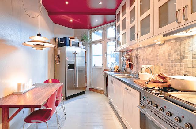 Slaapkamer Inrichten Op Schaal : Rinskes blog: Keuken met rood ...