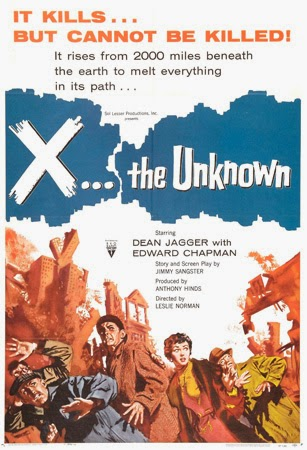 Poster - X: The Unknown (1956)