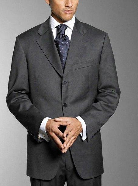 Trajes para hombre: traje de boda, ceremonia, business, Modelo 1