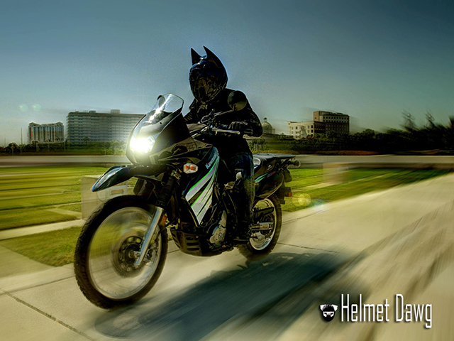 Capacete do Batman - Dark as Night - Helmet Dawg