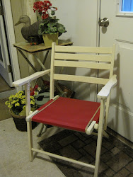 Campy canvas chair *SOLD*