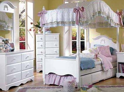 Dormitorio estilo princesa para ni a mujer tu rinconcito - Dosel cama nina ...