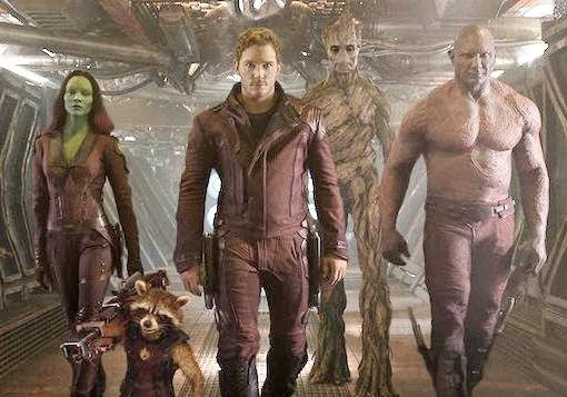 GUARDIANS OF THE GALAXY movie Trailer #2