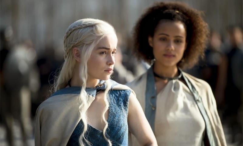 Khaleesi y Missandei - Juego de Tronos cuarta temporada