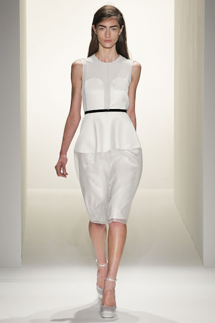 Calvin Klein's Lookbook for spring 2013