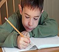 inglés para niños writing