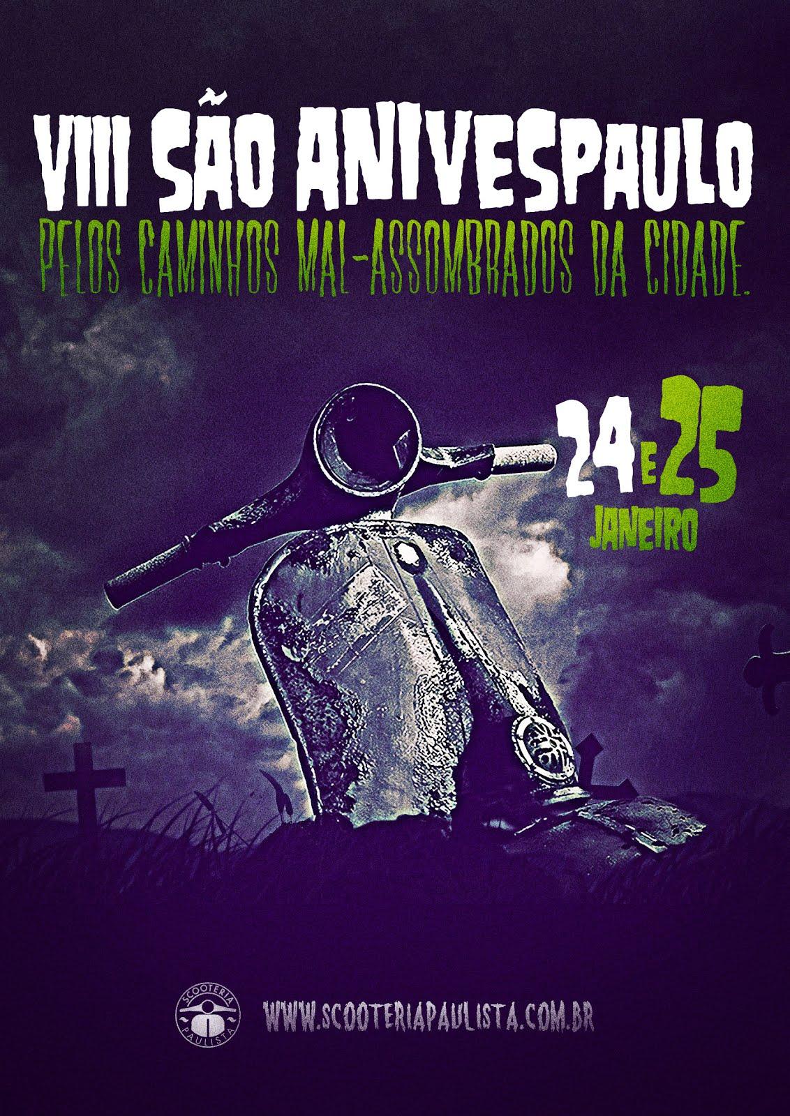 VIII SÃO ANIVESPAULO