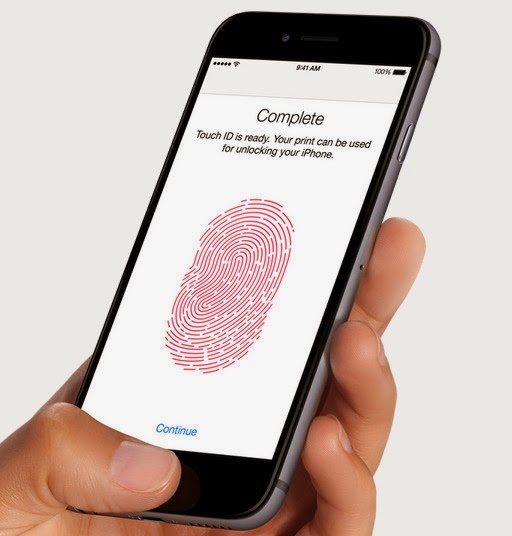 iPhone 6 official photo Touch ID