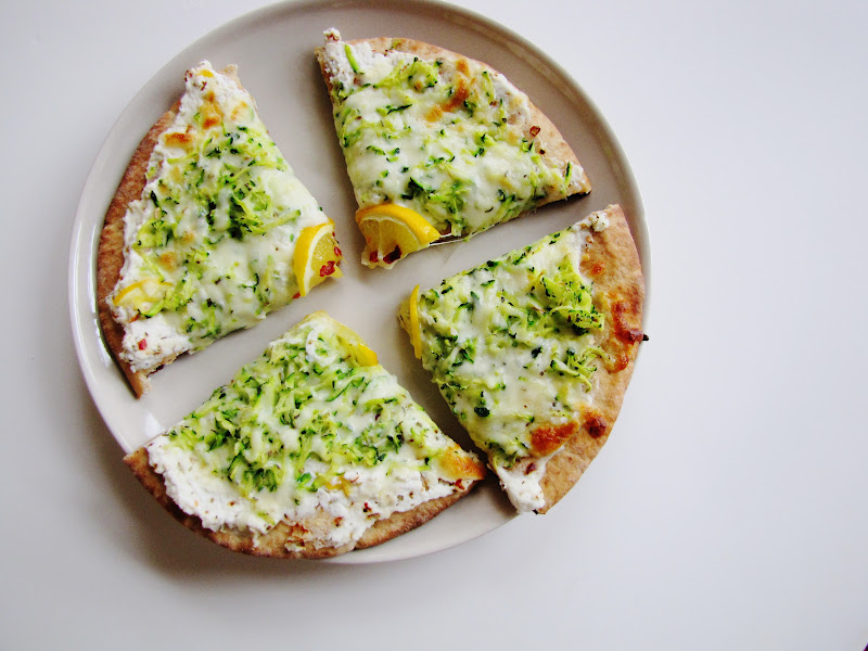 themustardseed.....: Zucchini and meyer lemon pizza