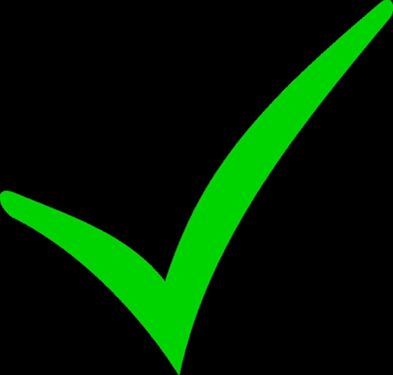 Powerpoint grüner haken | HAken symbol. 2020-05-20