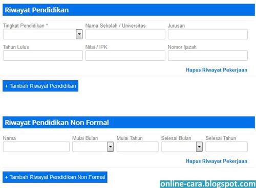 Cara Membuat Kartu Kuning Online ~ Cara Online