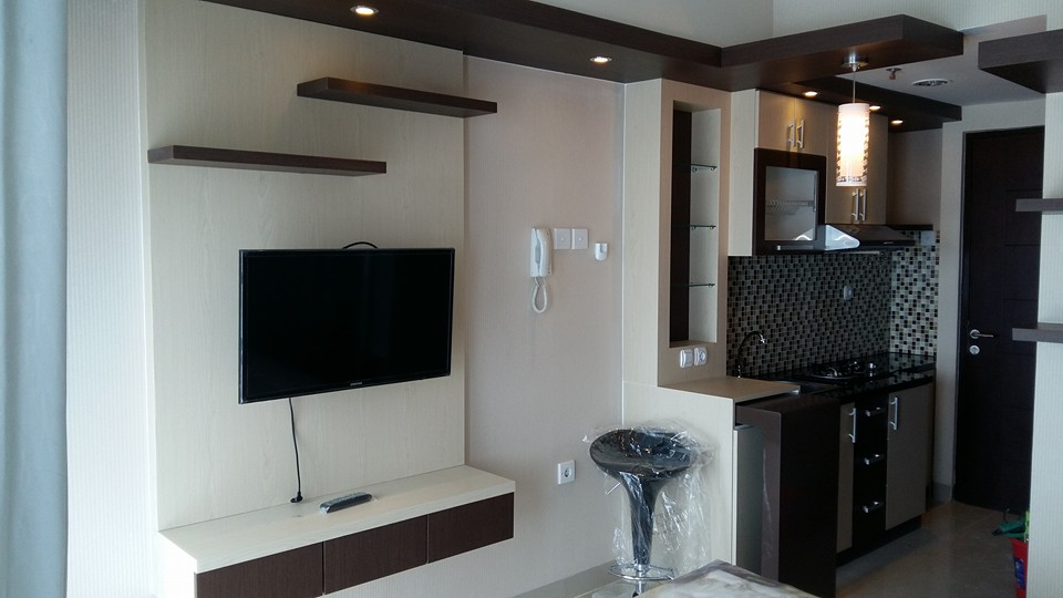 Infinity interior jakarta for Interior apartemen studio