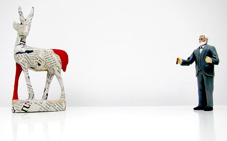 Gazelle und Freud